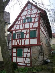 Geburtshaus des von den Nazis verfolgten Schorndorfer Ehrenbürgers Gottlob Kamm